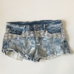 Lei Denim Shorts
